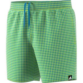 adidas Check CLX SH SL Shorts Hombre, semi solar slime